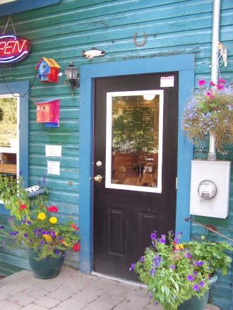 frog peak cafe entrance