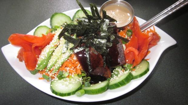 The sushi bowl