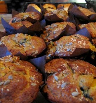 muffin, breakfast, frog peak cafe