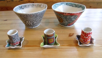 ShprixieLand Studios, Pottery, Frog Peak Cafe